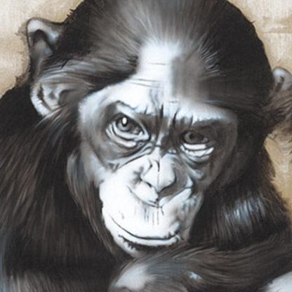 Bonobos painting NelumboArt