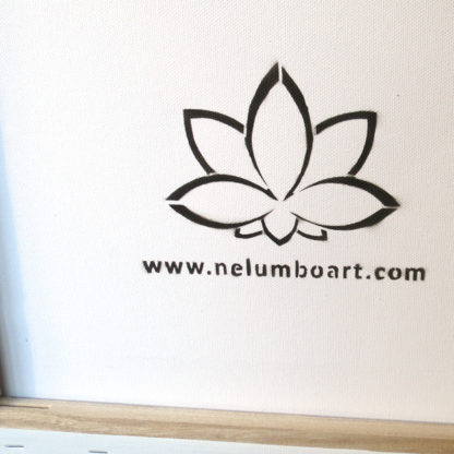 charity sign painting NelumboArt