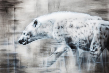 hyena painting NelumboArt