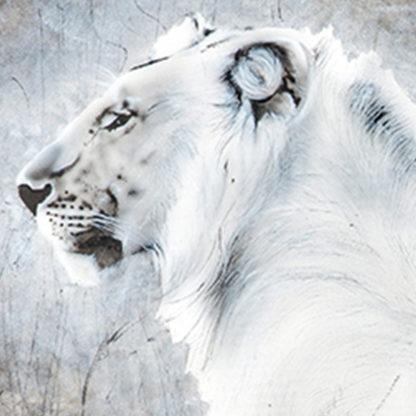 lion in mara painting NelumboArt