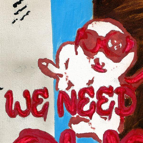 Erdmännchen painting NelumboArt