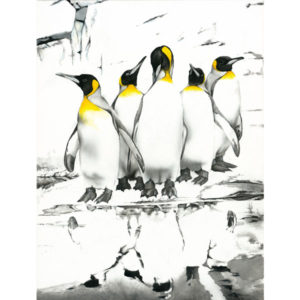Pinguine painting NelumboArt