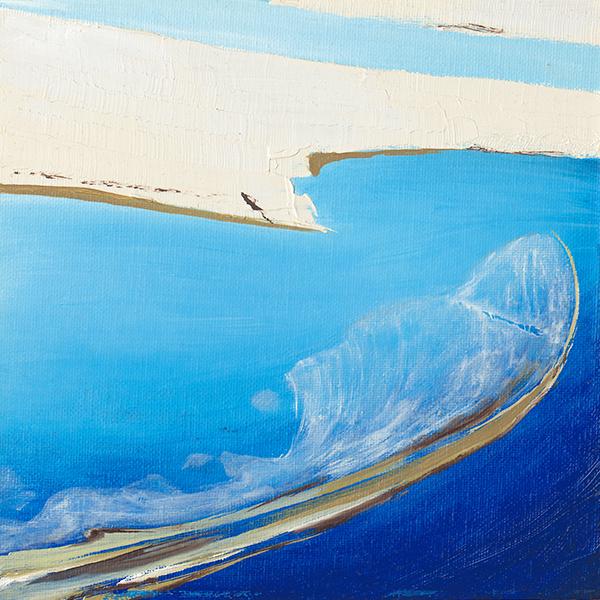 Fauler See abstrakt
